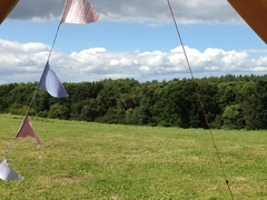 View from Bell Tent