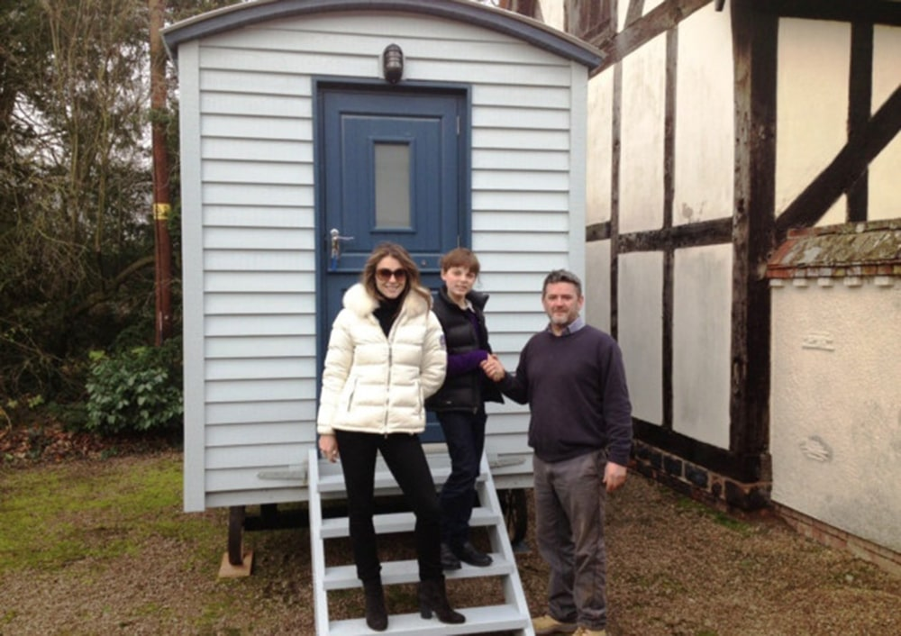 Shepherds Hut Elizabeth Hurley