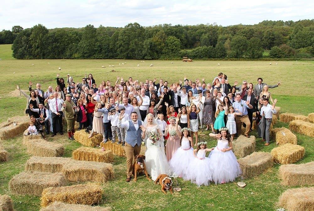 Outdoor wedding venue norfolk